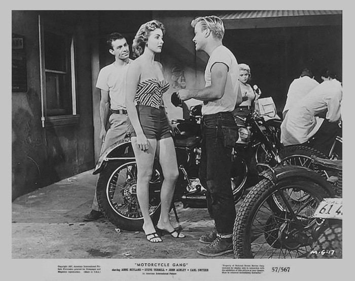 Motorcycle Gang (film) Motorcycle Gang 1957 3B Theater Poster Archive