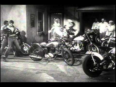 Motorcycle Gang (film) Motorcycle Gang Trailer YouTube