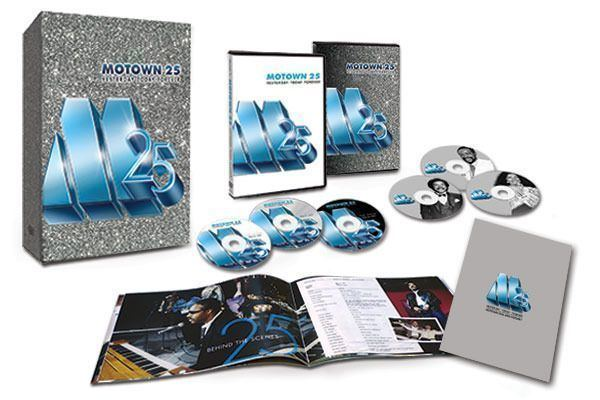Motown 25: Yesterday, Today, Forever Motown 25 YesterdayTodayForever Deluxe Collectors Set Time Life