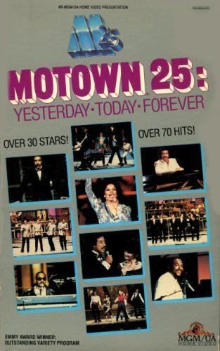 Motown 25: Yesterday, Today, Forever Amazoncom Motown 25 Yesterday Today Forever VHS Michael