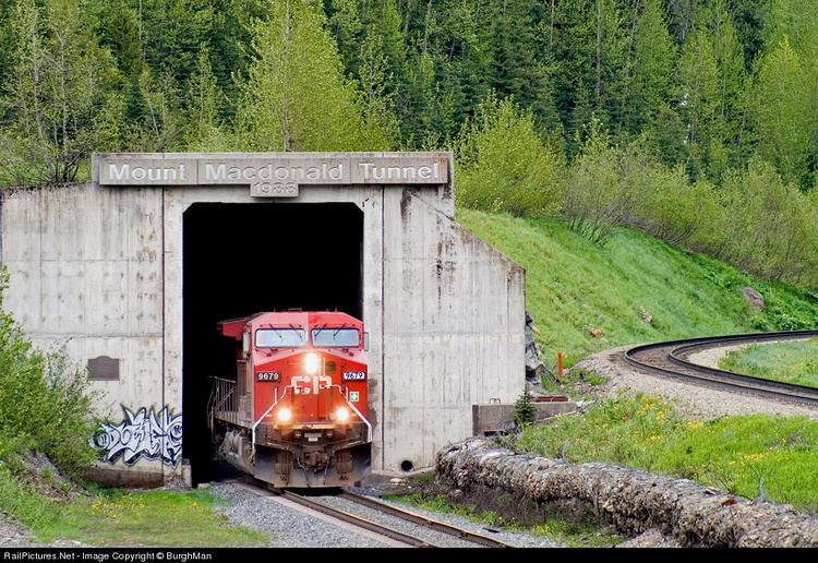 Mount Macdonald Tunnel RailPicturesNet Photo CP 9679 Canadian Pacific Railway GE AC4400CW
