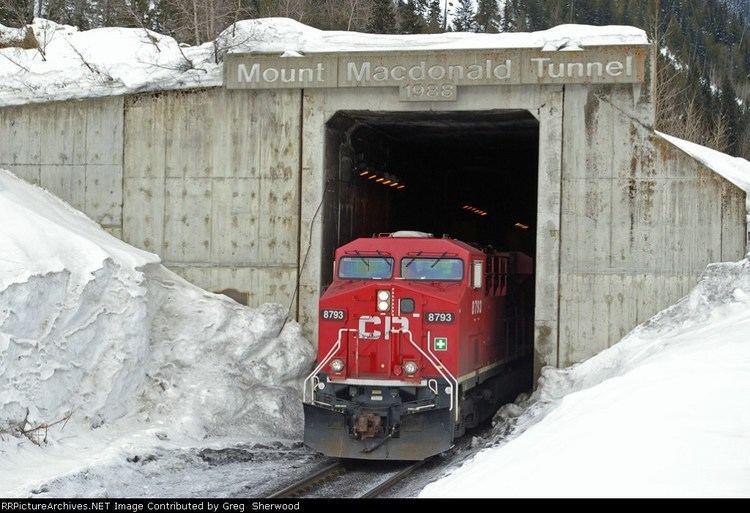 Mount Macdonald Tunnel 8793 Mount Macdonald Tunnel
