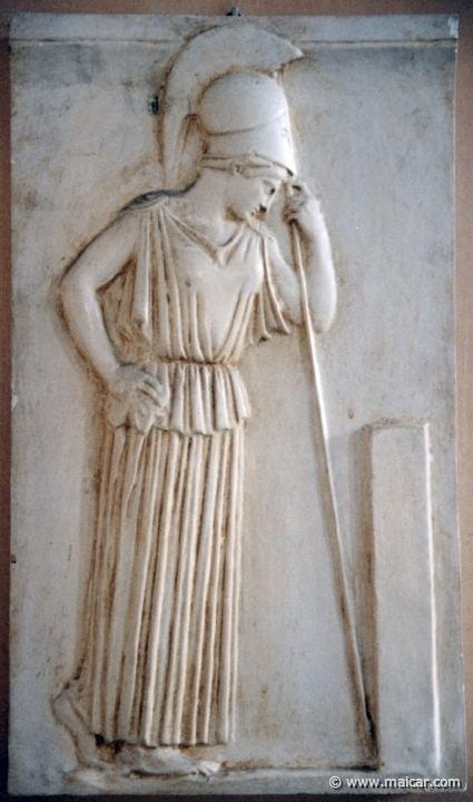 Mourning Athena IconographyAthena1409
