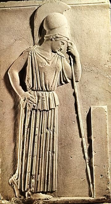 Mourning Athena Sculptures Mourning Athena