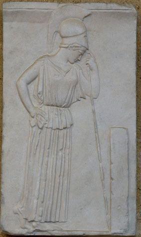 Mourning Athena Mourning Athena Museum of Classical Archaeology Databases