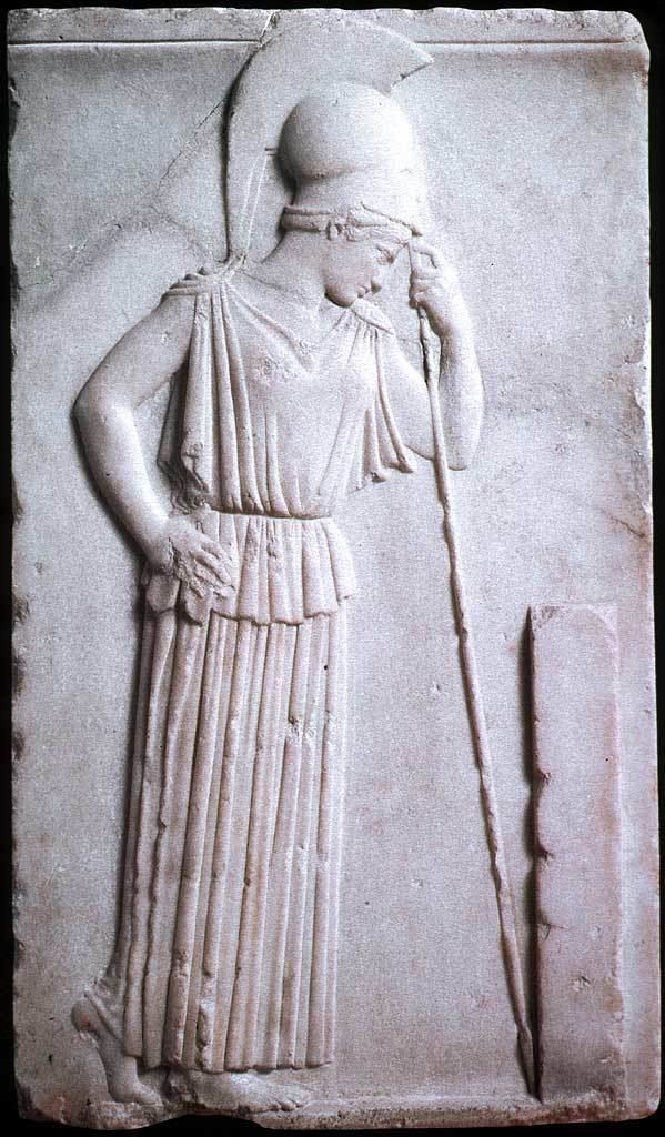 Mourning Athena Combative women in stone and metal Female Single COmbat Club