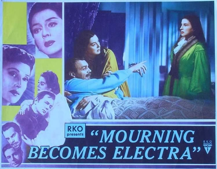 Mourning Becomes Electra (film) movie scenes Dudley Nichols s Mourning Becomes Electra has its staunch defenders but so does every other awful movie