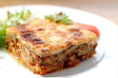 Moussaka Traditional Greek Moussaka recipe Moussaka with Bchamel My