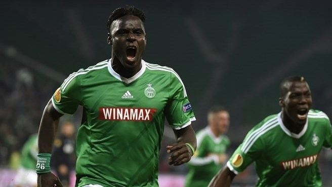 Moustapha Bayal Sall Sttienne find chink in Inters armour UEFA Europa League News