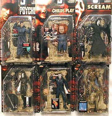 Movie Maniacs Movie Maniacs Series 2 Case McFarlane Toys Movie Maniacs