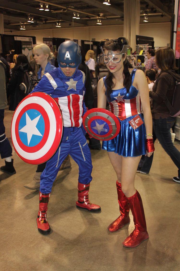 Mr. and Mrs. America FileMr and Mrs America cosplay 2013 Calgary Expojpg Wikimedia