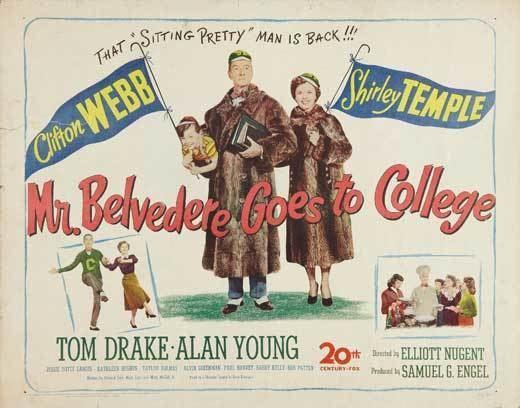 Mr. Belvedere Goes to College Mr Belvedere Goes to College Movie Posters From Movie Poster Shop