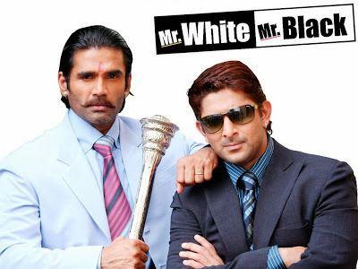 Mr White Mr Black 2008 Hindi Movie 350MB WebHD 480P
