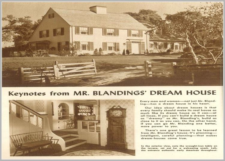 Mr. Blandings Builds His Dream House Phyllis Loves Classic Movies The House Plan Scene in Mr