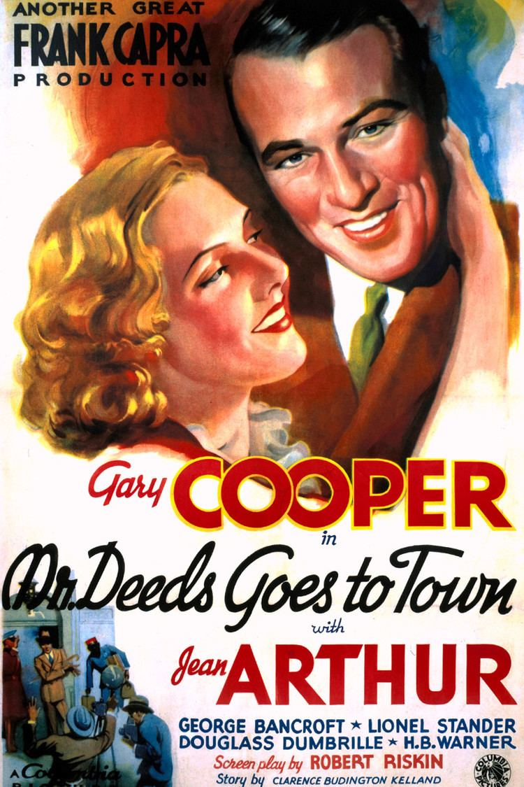 Mr. Deeds Goes to Town wwwgstaticcomtvthumbmovieposters3935p3935p