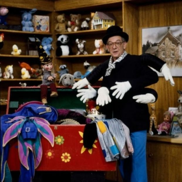 Mr. Dressup Casey and Finnegan of Mr Dressup alive and well on Hornby Island