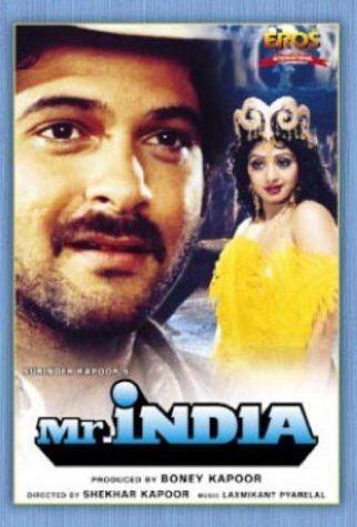 FRAMING MOVIES Take TwentyOne Mr India 1987 BollySpicecom