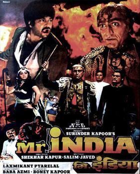 Mr India 1987 film Wikipedia