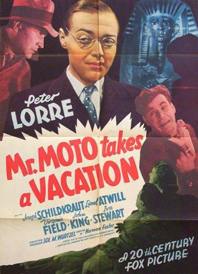 Mr. Moto Takes a Vacation MrMoto Takes a Vacation 1939 Vintage45s Blog