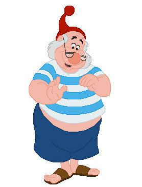 Mr. Smee 1000 images about Mr Smee Personaje on Pinterest Disney Disney