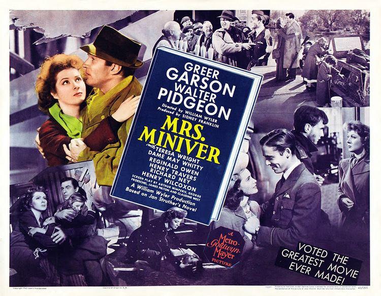 Mrs. Miniver (film) movie scenes The Film