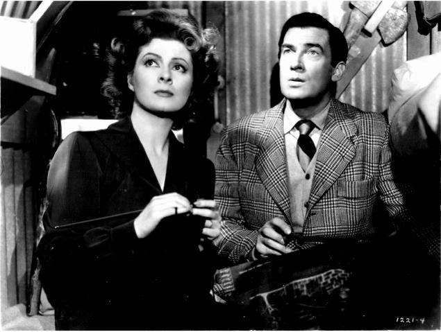 Mrs. Miniver (film) movie scenes Actress Greer Garson is shown in a scene from the 1942 movie Mrs Miniver for which Garson won an Academy Award for Best Actress