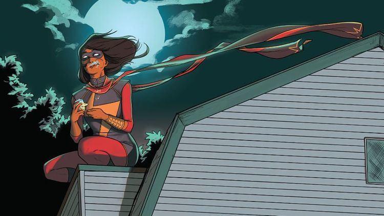 Ms. Marvel (Kamala Khan) One year later Ms Marvel39s influence is felt far beyond the comics