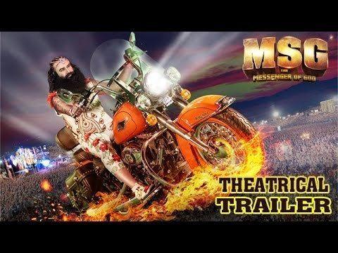 MSG The Messenger Official Theatrical Trailer Saint Gurmeet Ram