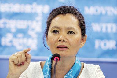 Mu Sochua April 2011 Mu Sochua MP amp Human Rights Advocate