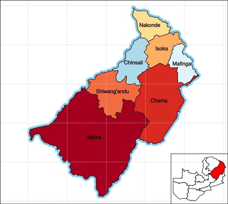 Muchinga Province Muchinga Province Wikipedia