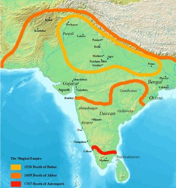 Mughal Empire Mughal Empire New World Encyclopedia