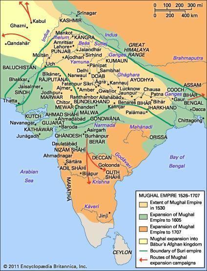 Mughal Empire Mughal dynasty India 15261748 Britannicacom