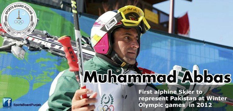 Muhammad Abbas (skier) Muhammad Abbas Pakistani Alpine Skier