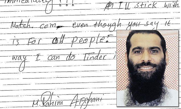 Muhammad Rahim al Afghani Guantanamo Bay prisoner Muhammad Rahim alAfghani has