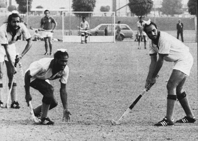 Mukhbain Singh Sikhs in Hockey India Olympic Games Mukhbain Singh