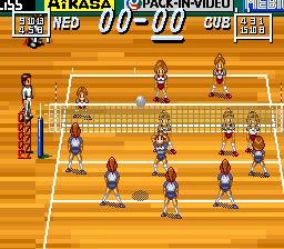Multi Play Volleyball Multi Play Volleyball Japan ROM lt SNES ROMs Emuparadise
