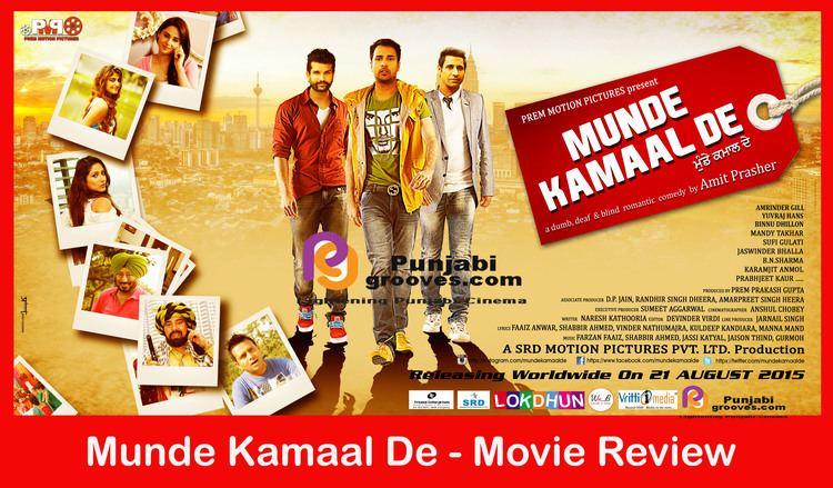 Munde Kamaal De Munde Kamaal De 2015 Movie Review Punjabigroovescom
