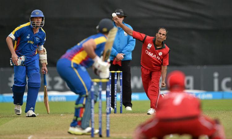 Munis Ansari Munis Ansari Omans slinger made in India Cricket ESPN Cricinfo