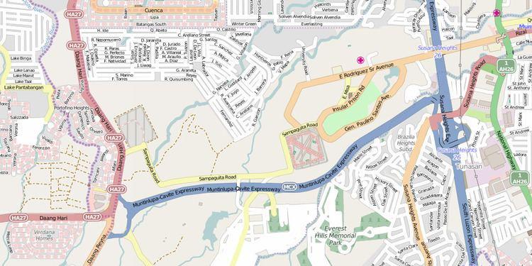 Muntinlupa–Cavite Expressway