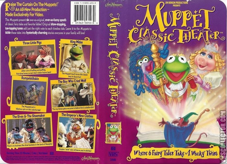 Muppet Classic Theater Muppet Classic Theater VHSCollectorcom Your Analog Videotape