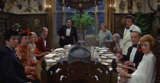 Murder by Death movie scenes Murder by Death Robert Moore 1976 When eccentric millionaire Lionel Twain played by Truman Capote in one of the strangest casting choices of all