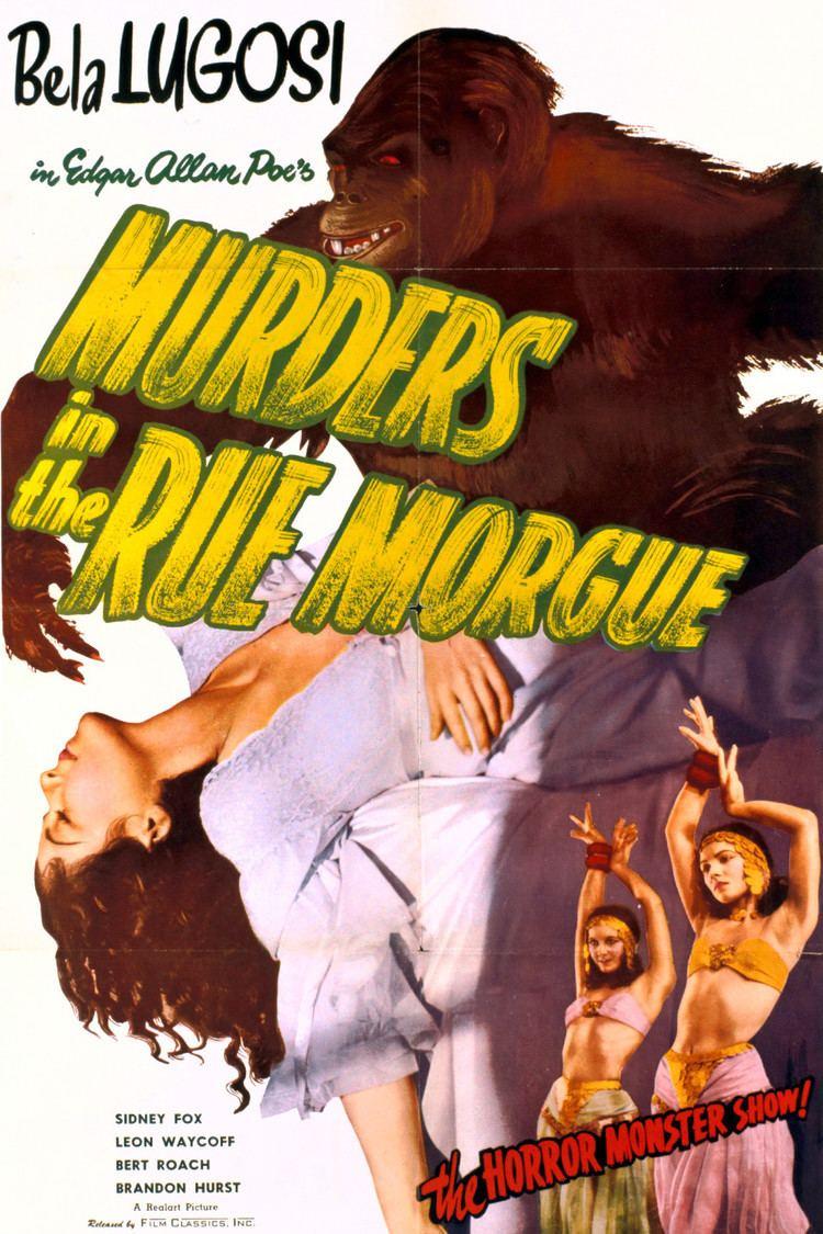 Murders in the Rue Morgue (1932 film) wwwgstaticcomtvthumbmovieposters6806p6806p
