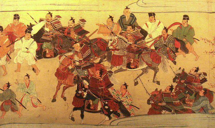 Muromachi period FileMuromachiSamurai1538jpg Wikimedia Commons
