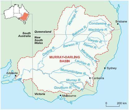 Murray–Darling basin Australia The MurrayDarling Basin EARTH 103 Earth in the Future