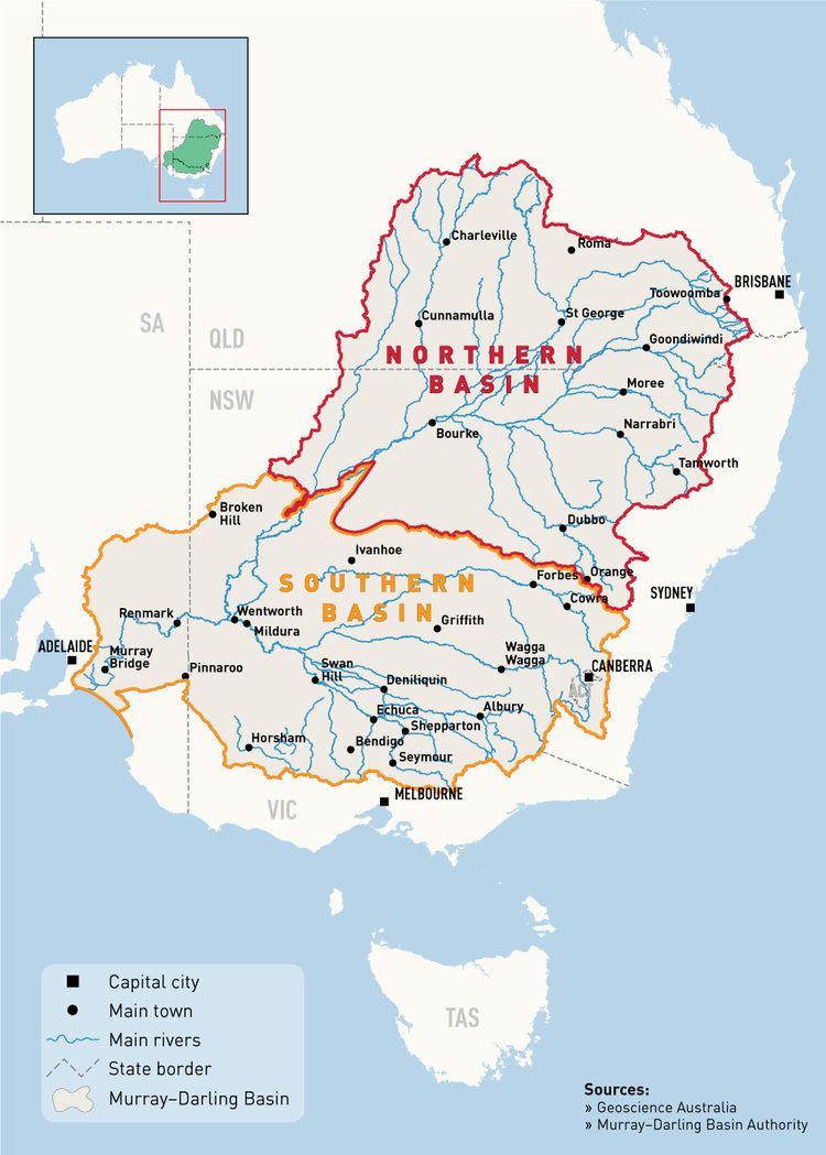 Murray–Darling basin Geography MurrayDarling Basin Authority