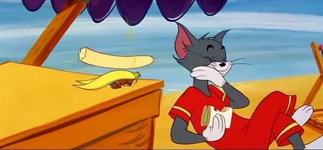 Tom and jerry beach
