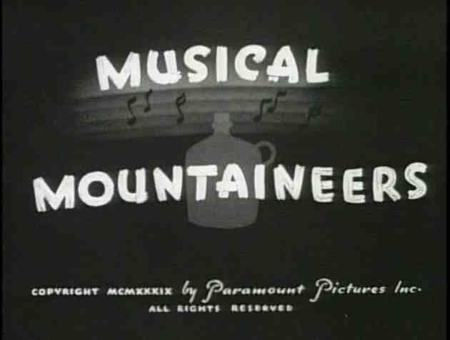 Musical Mountaineers Cartoons of 1939 063 Musical Mountaineers
