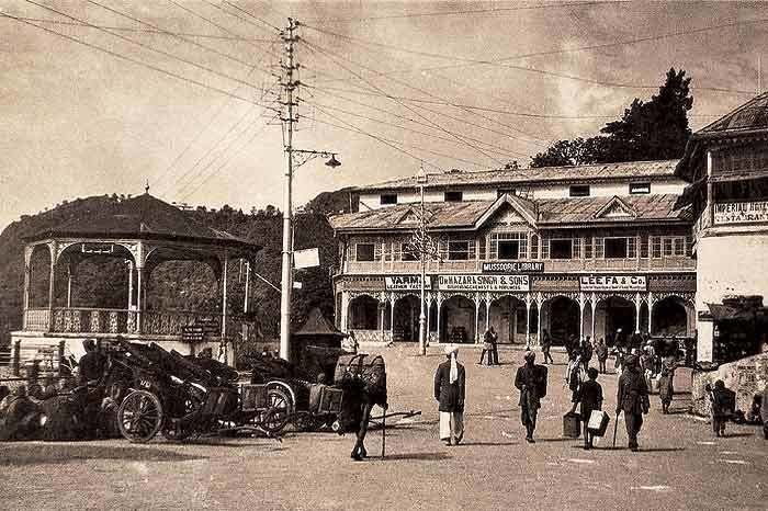 Mussoorie in the past, History of Mussoorie