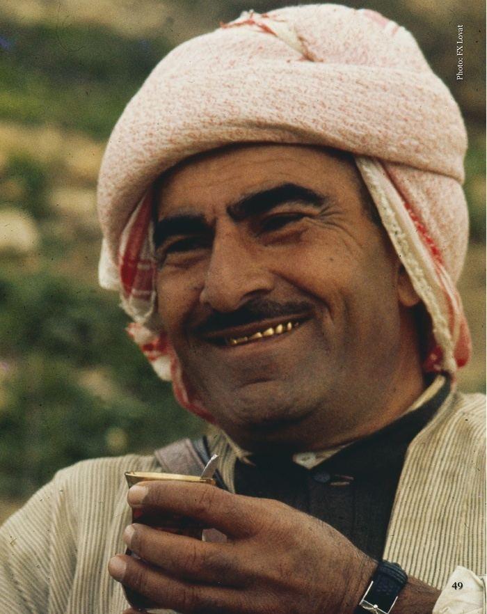Mustafa Barzani Mustafa Barzani in 1963 walking into negotiations with