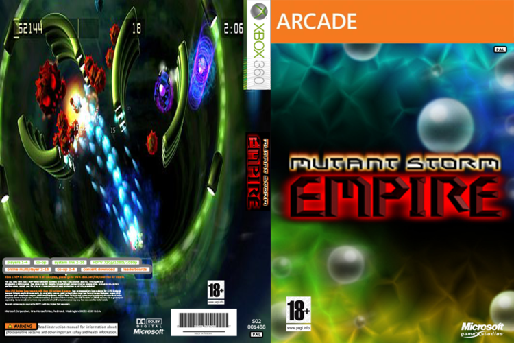 Mutant Storm Empire COVER MUTANT STORM EMPIRE XBLA JTAGRGH XBOX by wilson646 on